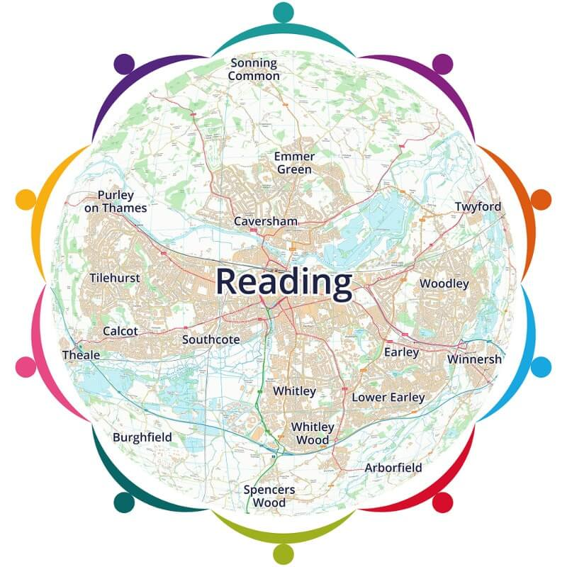 Map of Reading - John Sykes Foundation